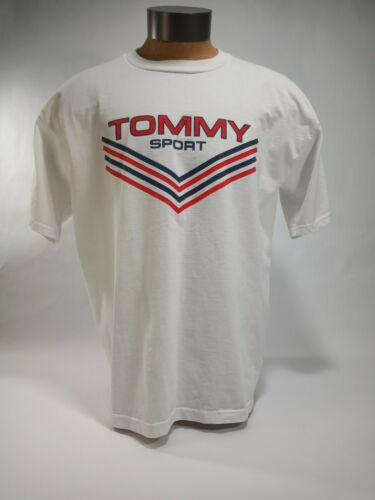 Made In USA XL vintage bootleg tommy hilfiger polo shirt