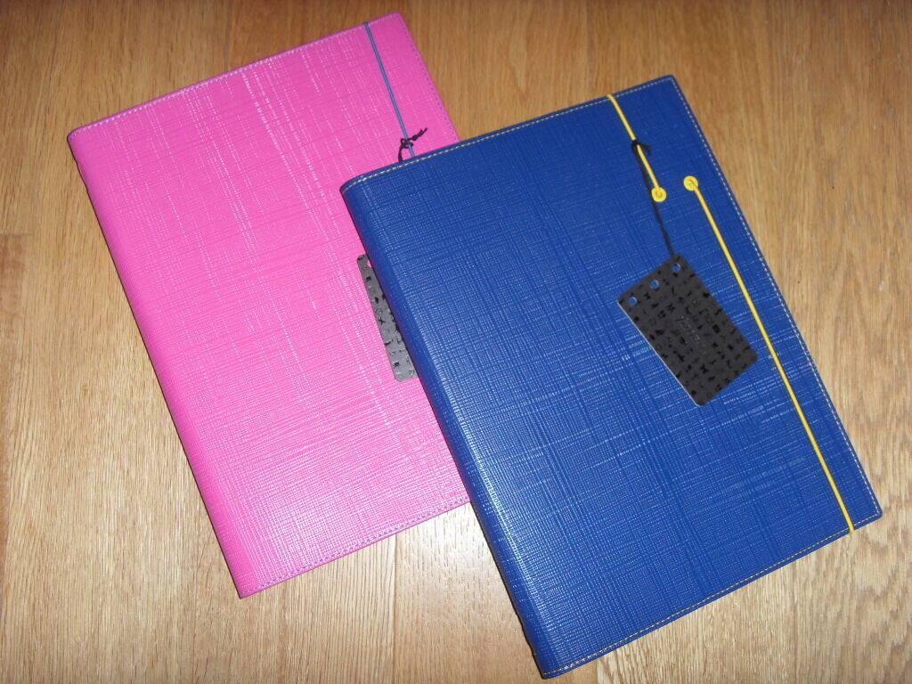 Filofax Notepad Holder Synthetic Leather Mod. Apex a4