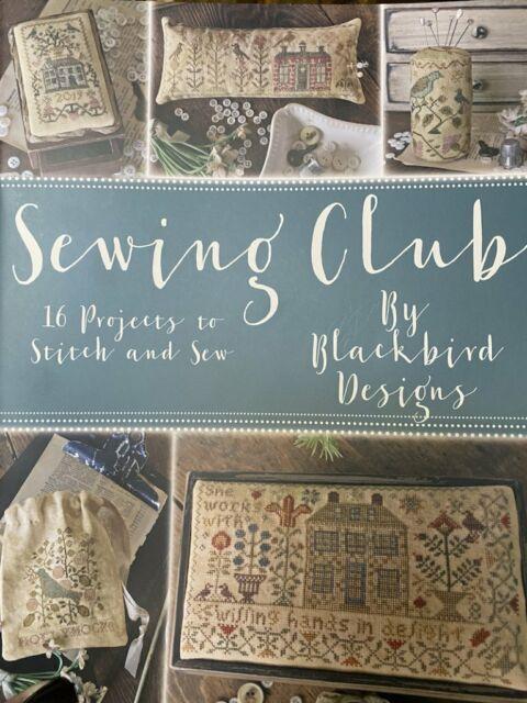 Sewing Club by Blackbird Designs cross stitch pattern
