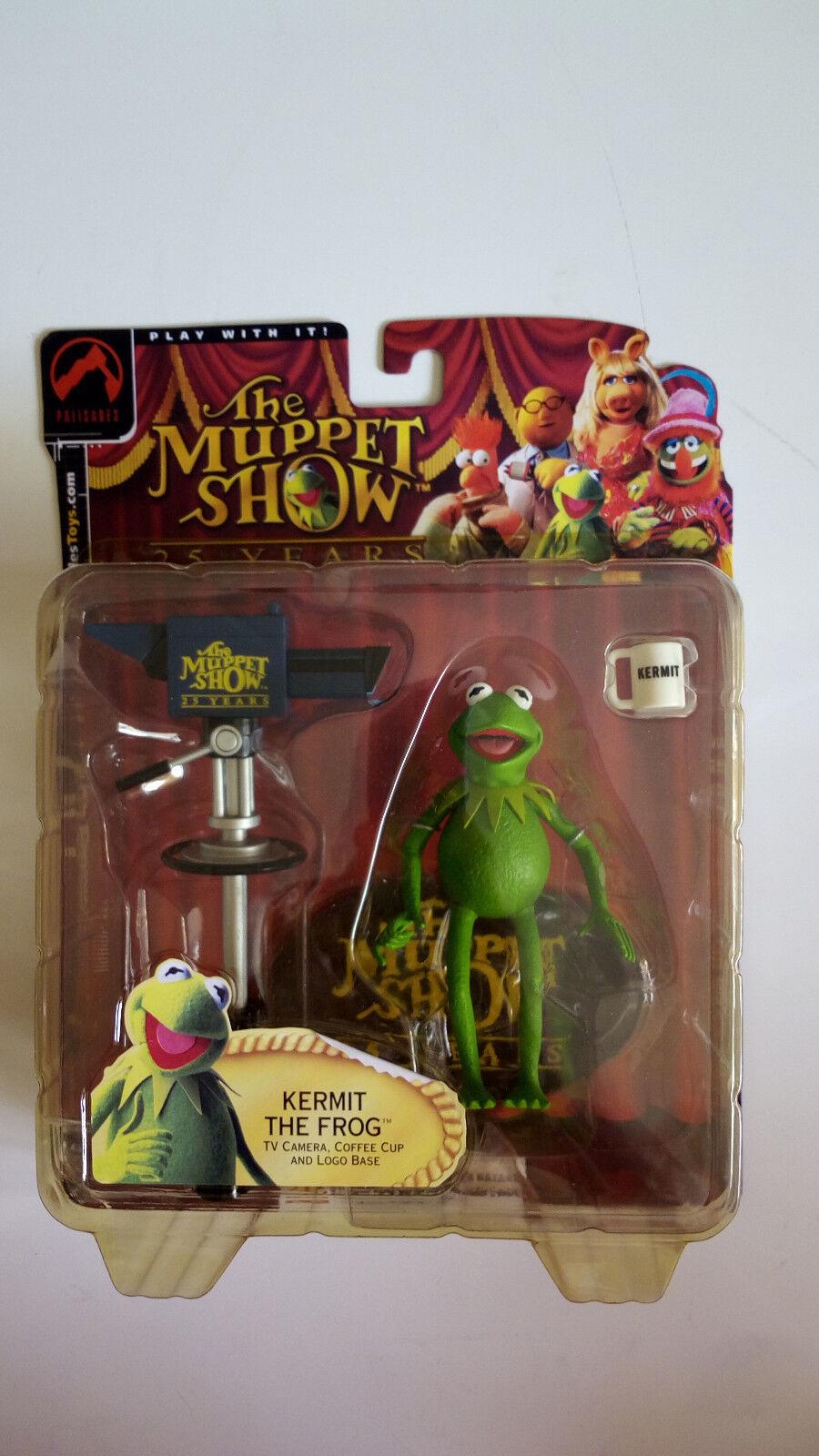 Muppets Kermit the Frog Figur von Palisades  Neu & Ovp