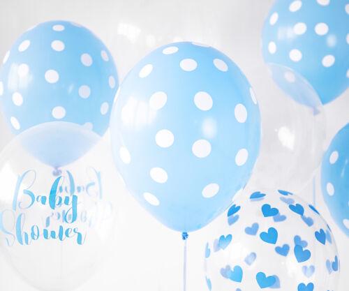 6 Stück Strong Luftballons mit Aufdruck Höhe 30cm Farbauswahl Partyzubehör