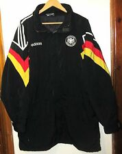 VINTAGE GERMANY 1992 RARE FOOTBALL JACKET ADIDAS SIZE D8 FOR 192cm DEUTSCHLAND