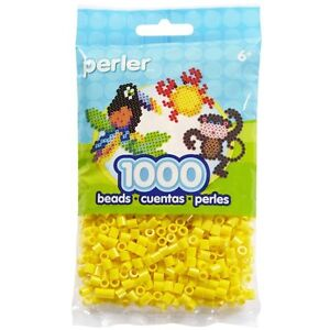 1000-Perler-Yellow-Color-Iron-On-Fuse-Beads-80-19003