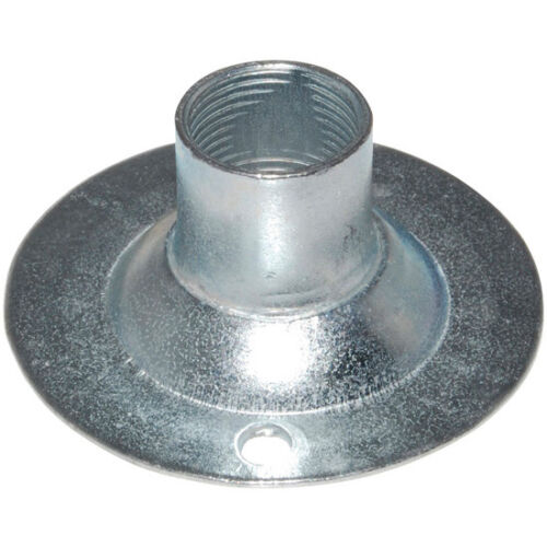 10 X 20mm Galvanised Female Dome Cover for Conduit Fittings BA28820G