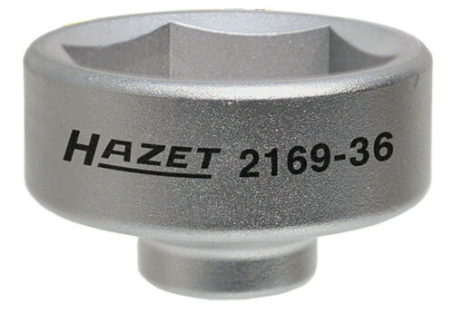 NEW Porsche Panamera 2010-2012 HAZET 2169-36 Oil Filter Wrench 6 Point 36mm