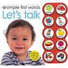 Let's Talk by Robert Tainsh, Roger Priddy (Board book)