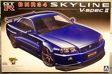 2000 Nissan Skyline GT-R R 34 V.spec II, 1:24, Aoshima 011027