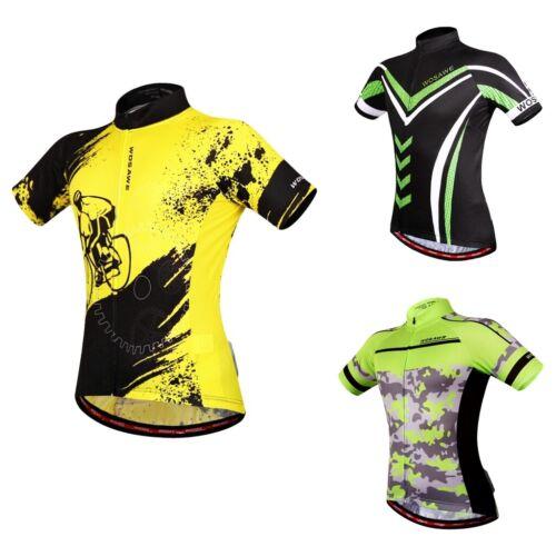 Men Cycling Clothing Bicycle Jersey Sportswear Short Sleeve Bike T-Shirt Top