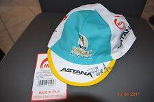 Casquette jersey cap signed Fabio Aru Astana tour de France 2017 cycling giro