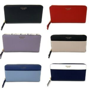 Kate-Spade-Cameron-Large-Continental-Leather-Zip-Around-Wallet-Select-Style