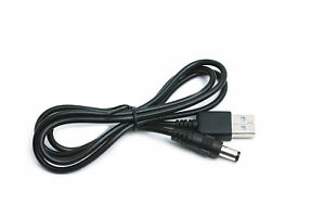 90cm USB White Charger Cable for Motorola MBP35XLC Parent/'s Unit Baby Monitor
