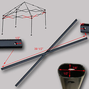 Image is loading First-Up-Ozark-Trail-10-X-10-Canopy- & First Up Ozark Trail 10 X 10 Canopy SIDE TRUSS BAR 39 1/2 ...