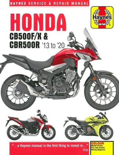 Haynes Handbuch HONDA CB500F/X+CBR500R Reparaturanleitung ...
