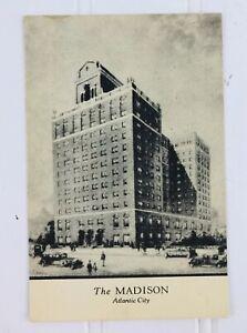 The-Madison-Hotel-Boardwalk-amp-Ocean-Atlantic-City-New-Jersey-Vintage-Post-Card