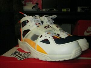 NIKE AIR TRAINER HUARACHE QS WHITE LASER ORANGE CITY PRIDE HOUSTON CD9280 100