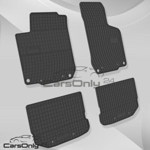 Nouveau PREISHIT Tapis de sol en caoutchouc en caoutchouc Tapis entièrement Compatible VW Skoda Seat top prix