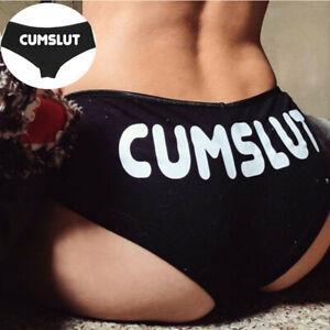 Funny Thongs Knickers Underwear G-string Cotton Women Lingerie Briefs Panties ..
