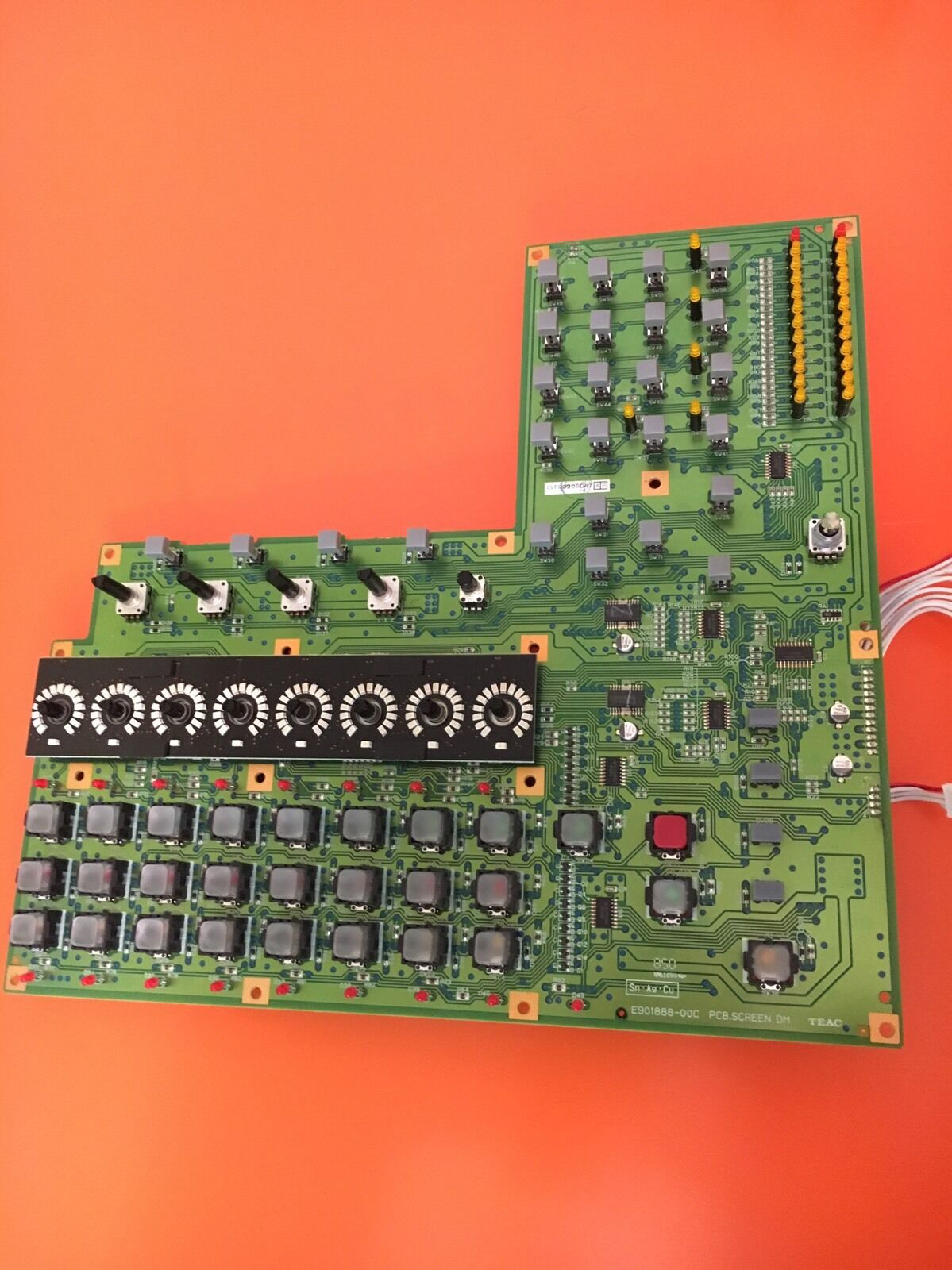 Tascam DM3200 DM4800 Screen Board - TEAC E901888-00C PCB.SCREEN DM