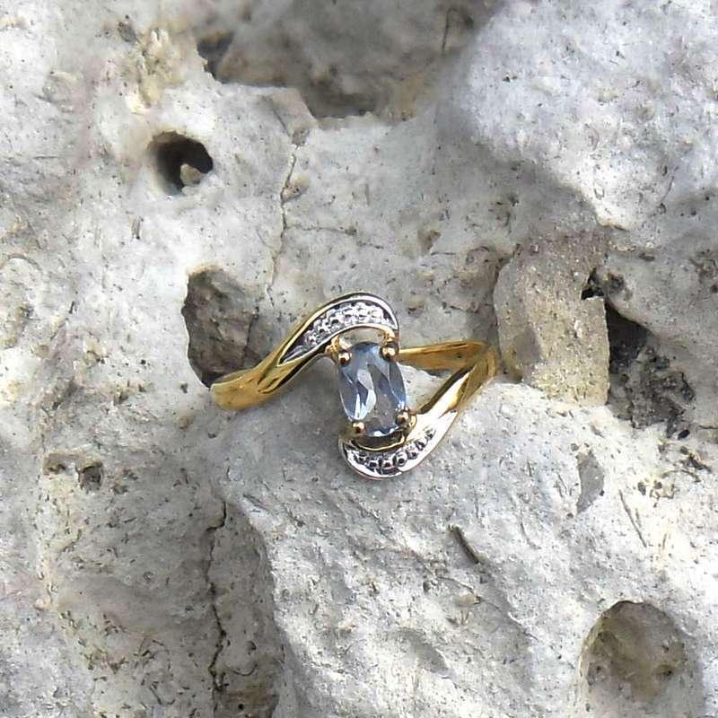 Ring in vermeil Größe 55