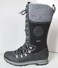 Tamaris Schnürstiefel Boots Warm schwarz  41 Duo-Tex Schurwolle Stiefel black