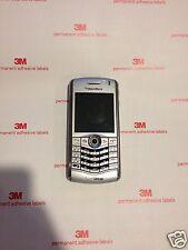 Badd ESN- Read. BlackBerry Pearl 8130 Verizon Flashed, Silver Phone, Need Battry