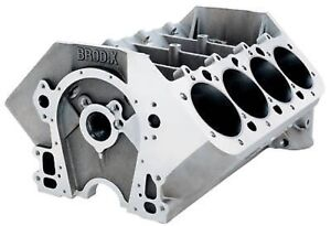 Details about BRODIX BB CHEVROLET 5 O BORE SPACING ALUMINUM BLOCKS 8B 5000