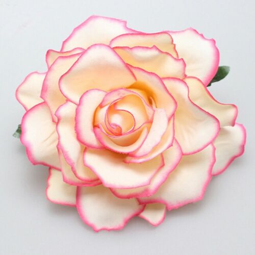 Rose Flower Hairpin Brooch Hair Clip Wedding Bridal Bridesmaid Party Accessories