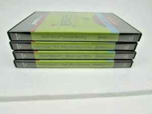 Jewel-School-4-DVD-lot-Set-Jewelry-Television-Beading-amp-Wire-Wire-Wrapping
