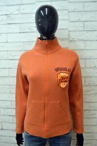 WRANGLER-Maglione-Taglia-L-Cardigan-Donna-Pullover-Sweater-Woman-Lana-Felpa