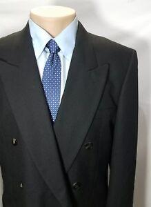 Albert Nipon Mr Eddie Wilmette Men S Sport Coat Black Wool
