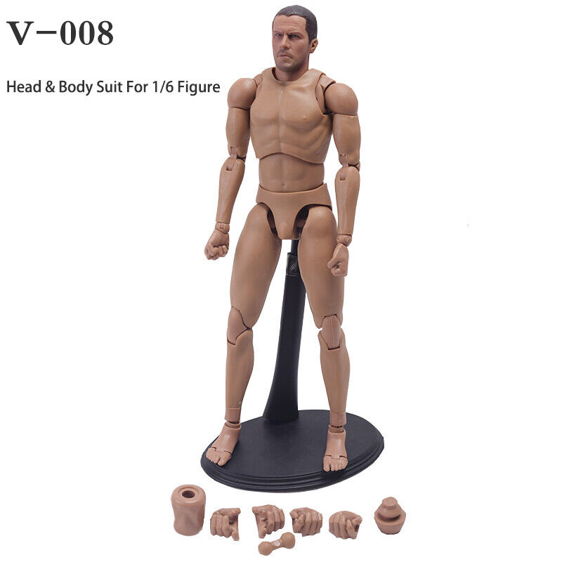 1//6 Kungfu Star A-26 Jean-Claude Van Damme Action Figure For 12/'/' Male Body