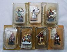 Lot 7 Figurines Collection FRONTLINE Antiquité Guerrier Perse Egyptien Archer