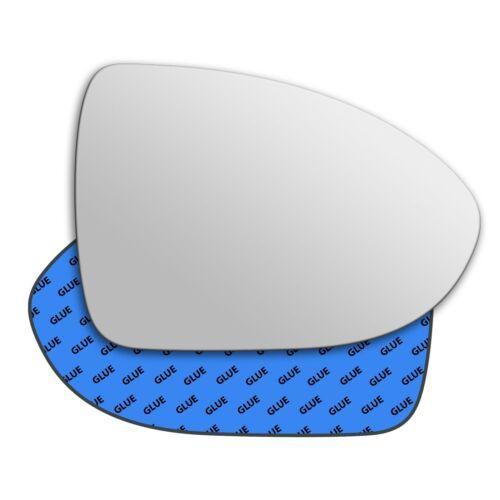 Right Hand Driver Side Mirror Glass for Kia Rio 2012 - 2019 0569RS