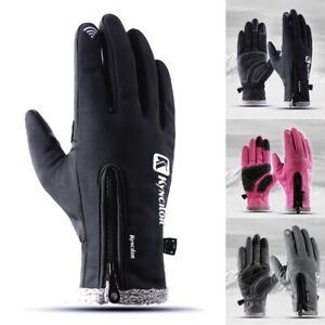 Winter Warm Windproof Waterproof Thermal Gloves Touch Screen Mittens Men Women