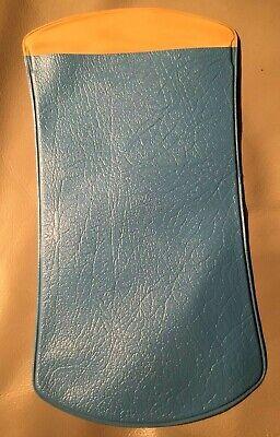 Altes Kult-brillenetui Brillentasche Kunstoff Plastik Blau Vintage Nostalgie Eine GroßE Auswahl An Waren