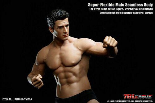 "TBLeague 1//12 Phicen Figure Head Body Model Super Flexible Seamless 6/"" Doll Toy"