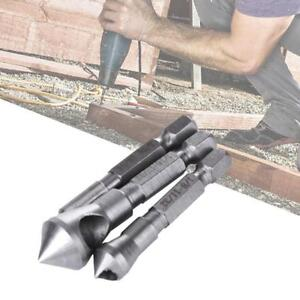 3x-Saw-Cutter-Hole-Chamfering-Countersink-Deburring-Drill-Bit-Power-Tool-DB