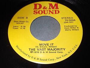 The-Vast-Majority-Move-It-Take-It-45-D-amp-M-Sound-Disco-Boogie-Funk