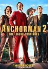 Anchorman 2 Legend Continues 0097363593041 DVD Region 1