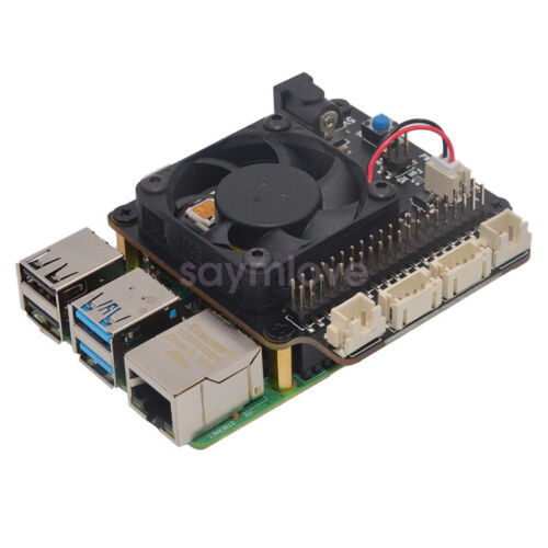 X735 V2.0 Power Management Board Temperature Control Fan For Raspberry Pi 4 3B+