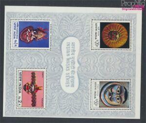 Indien-Block2-kompl-Ausg-postfrisch-1974-Masken-9137694