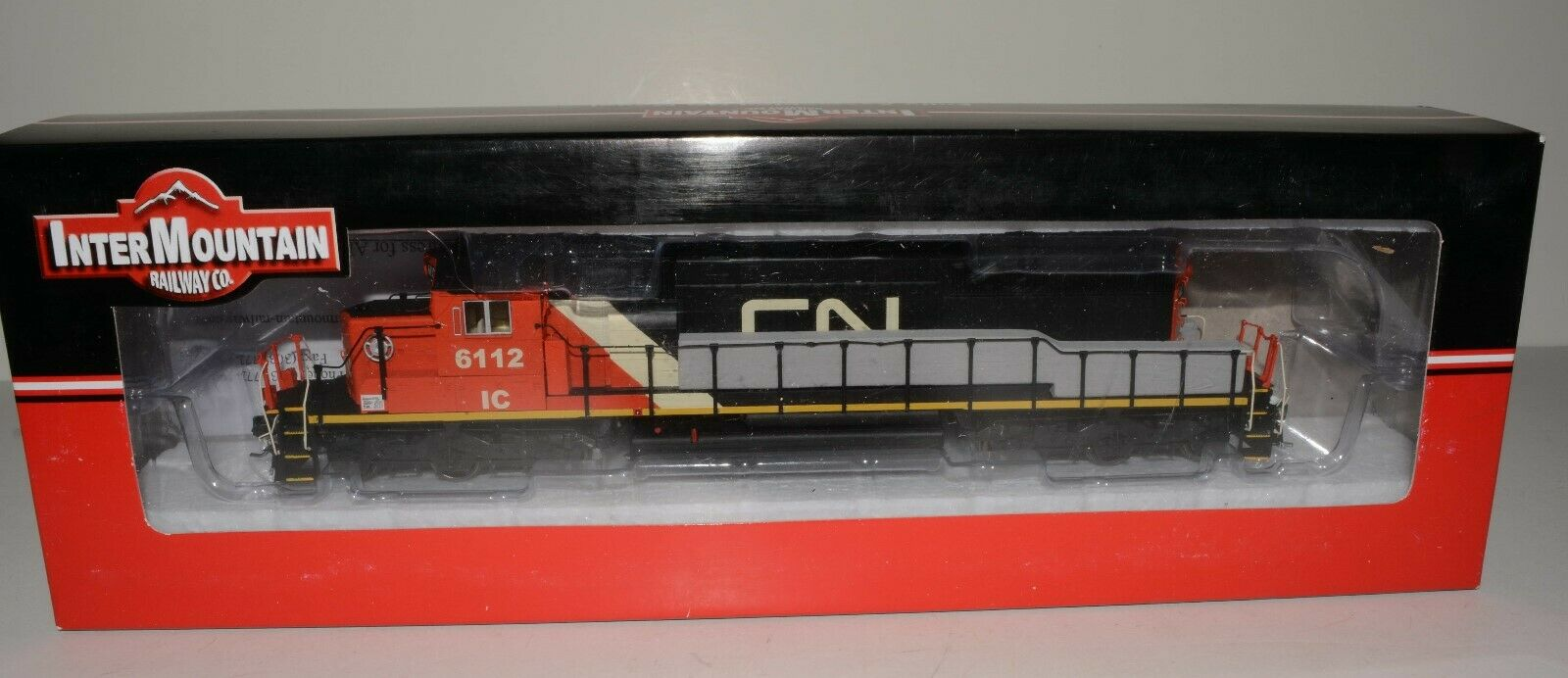 InterMountain DC DCC SOUND SD40-2 Canadian Pacific Illinois Central Lot C