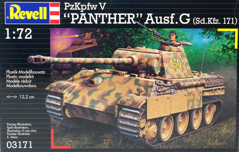 Revell 03171 Pz.Kpfw. V Panther Ausf. G