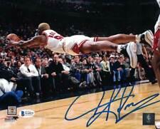 Dennis Rodman Autographed/Signed Chicago Bulls 8x10 Photo BAS 25585 PF