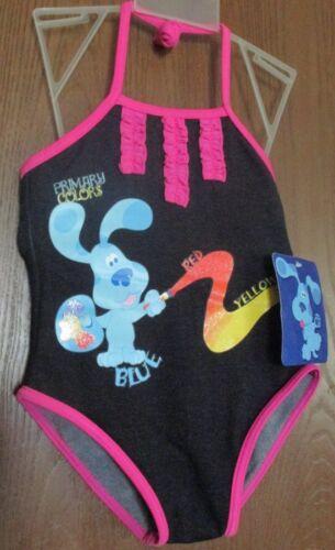 Blue/'s Clues Girl/'s size 3T One Piece Bathing Suit NEW Blues Clues Swim Suit NWT