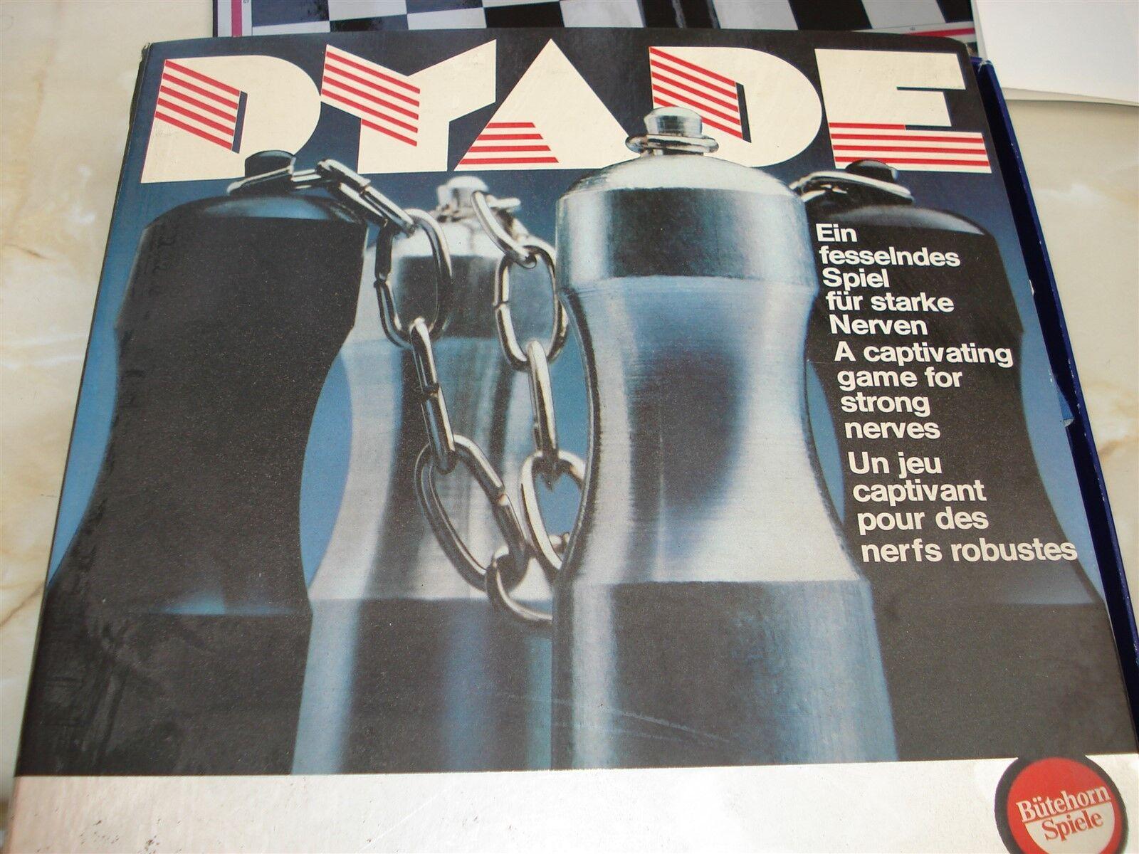 Dyade spiel - dyade - 1976 - 100% - spiel - vintage - spiel - strategie - spiel