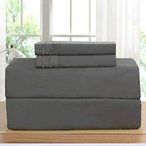 Elegant Comfort Luxurious Bed Sheets Set on Amazon 1500 Thread Count Wrinkle,Fa