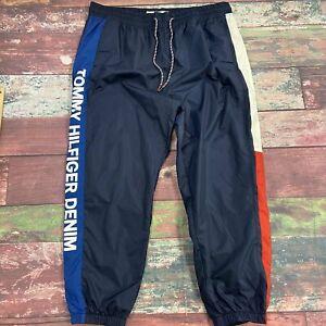 Tommy Hilfiger Pantalones Deportivos Azul Hombre Talla 2xl Nuevo Ebay