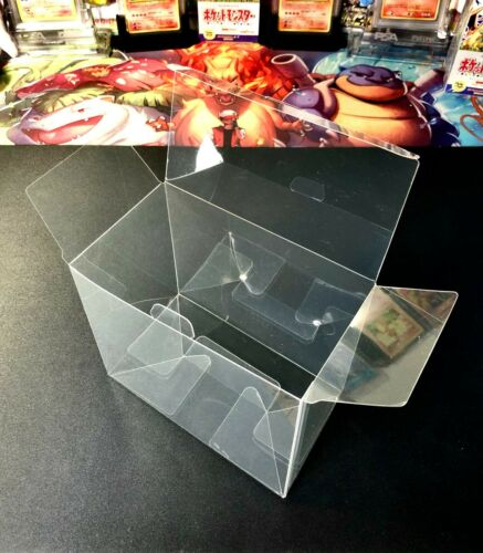 Pokemon Booster Box Plastic Protector Case - 1pc - Best Clear Protective Display