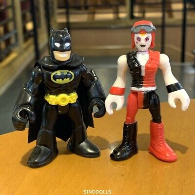 DC Fisher Price Imaginext Harley Quinn /& Wonder Woman Loose Action Figure